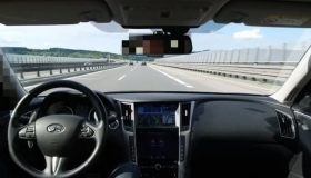 Driver Lets The Infiniti Q50 Drive Itself on the Autobahn [VIDEO]