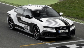 Audi RS7 Piloted Driving Concept is an Autonomous Car That Will Race a Track On Its Own [VIDEO]
