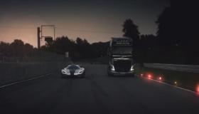 Who Will Win? Volvo FH Truck vs Koenigsegg One:1 [VIDEO]