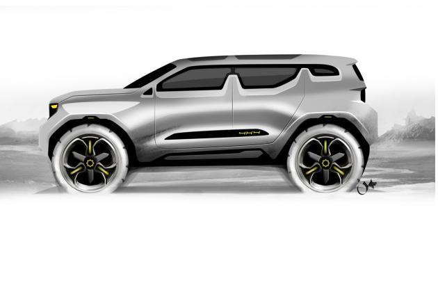 Nissan X Patrol Suv Design Study By Samir Sadikhov Fooyoh