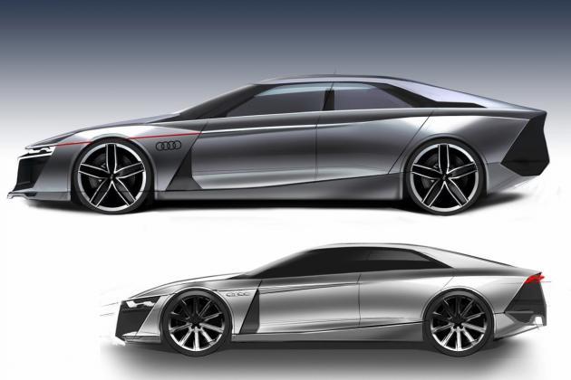 Audi R Design Study Sports Saloon Gallery FOOYOH ENTERTAINMENT - Audi r9