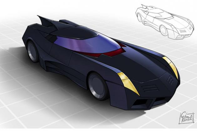 Batmobile Gets Makeover By People All Over The World