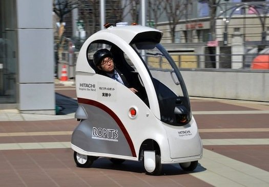 Autonomous Cars Are Already Here But S A Cool Concept Tiny Car That Small Enough To Drive On Sidewalks Unveiled In Tsukuba An