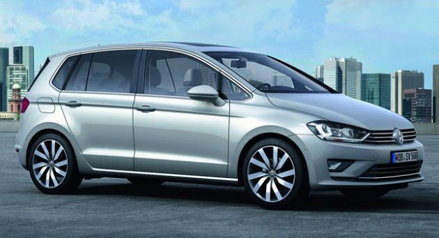 Vw Golf Sportsvan Is The New Golf Plus Fooyoh Entertainment