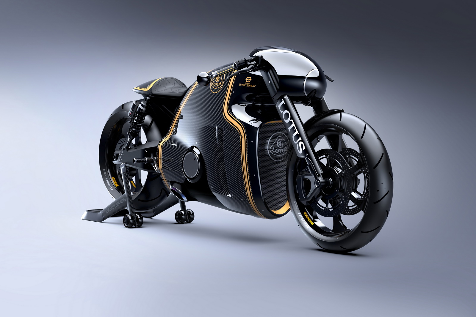 The bike will be built in limited numbers (just 100 examples) under license  by Kodewa of Germany with the support of the Holzder Group.