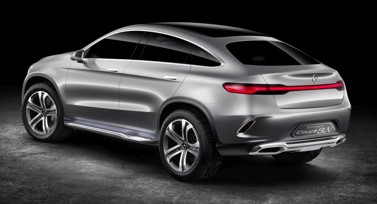 Compare the Mercedes Concept Coupe SUV to the BMW X6 and See the