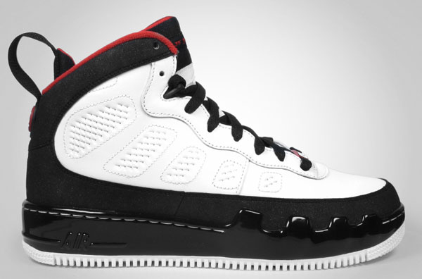 d1250b07a4c1 The fusion of classic Air Jordan styles and the Air Force 1 continues in  April with the first release of the Air Jordan Force 9. Obviously the Air Jordan  9 ...