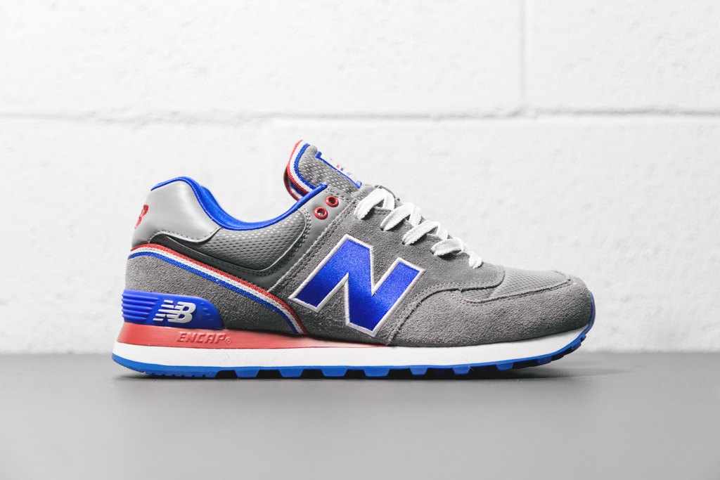 new balance 574 red white blue