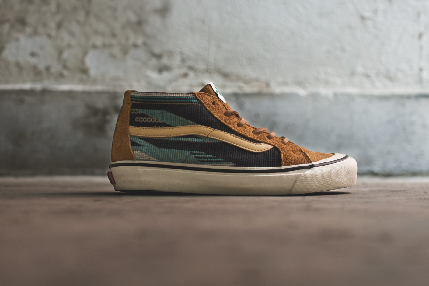 ce59e23fd88 ... Taka Hayashi and Vans Vault. The pack takes its name from the vibrant  Chimayo fabric featured on the quarter panels on the TH Sk8-mid LX  silhouette.