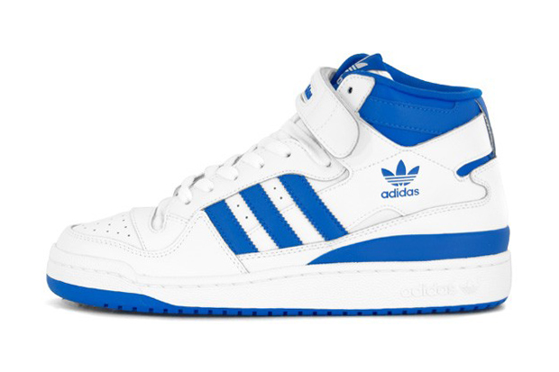 Adidas Shoes White And Blue