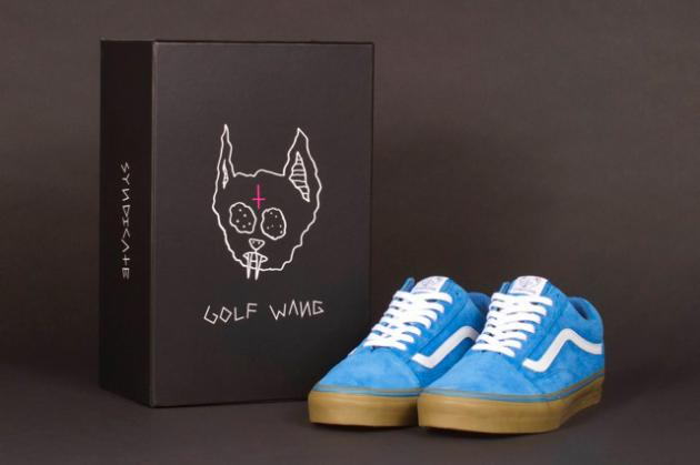"25e868d0e1d9bf Here s a glimpse at the highly anticipated Old Skool Pro ""S"" model from Odd  Future and Vans Syndicate. The premium suede uppers with white accents are  ..."