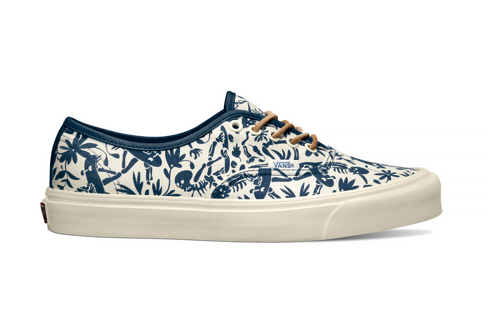 """fe5d02d05cb093 Taka Hayashi s latest for Vault by Vans release is the """"Sk8 Paradise"""" pack  for Holiday 2014. Due to hit Vault stockists later this month with prices  ..."""