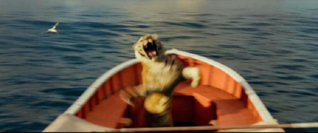 New 39 life of 39 pi clip features flying fish that fight for Life of pi characterization