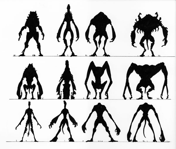 The Cloverfield Monster Went Through A Lot Of Variations Before It Ended Up With Its Unique Body Shape Designer Neville Pages Portfolio Reveals