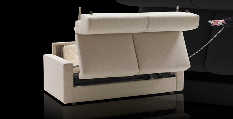 Enjoyable Lazy Houseguests Dream An Automatic Sofabed Fooyoh Caraccident5 Cool Chair Designs And Ideas Caraccident5Info