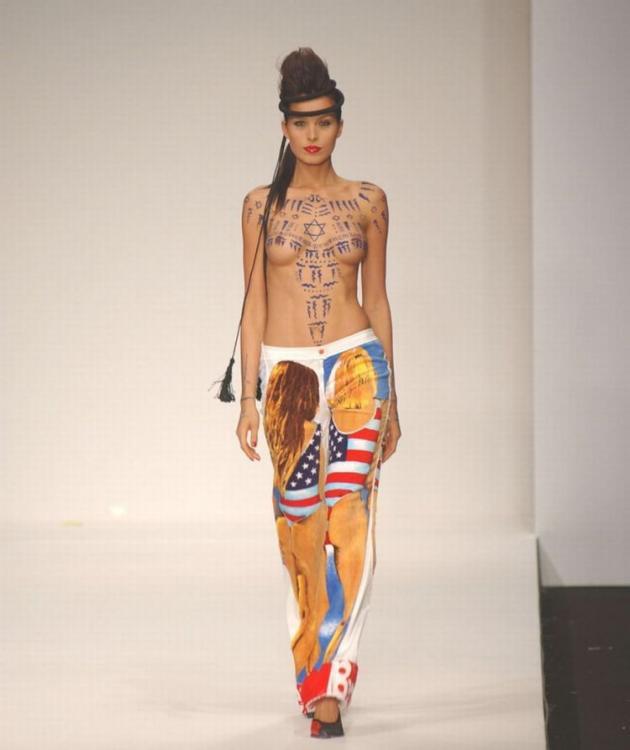 Ftv nude models on runway