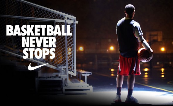 """Nike """"Basketball Never Stops"""" Ad :: FOOYOH ENTERTAINMENT"""