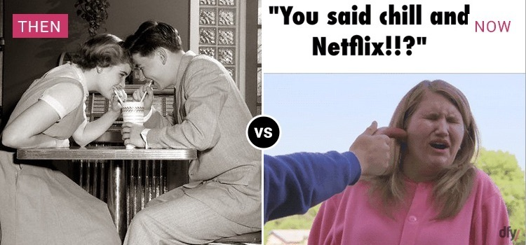 dating now vs then