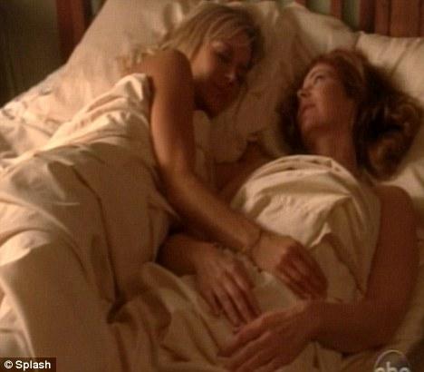 Dana delaney desparate housewives sex scenes
