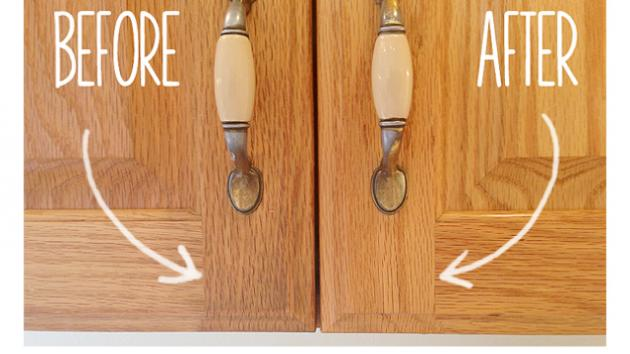 This Simple Recipe Will Make Your Wooden Cabinets Look New