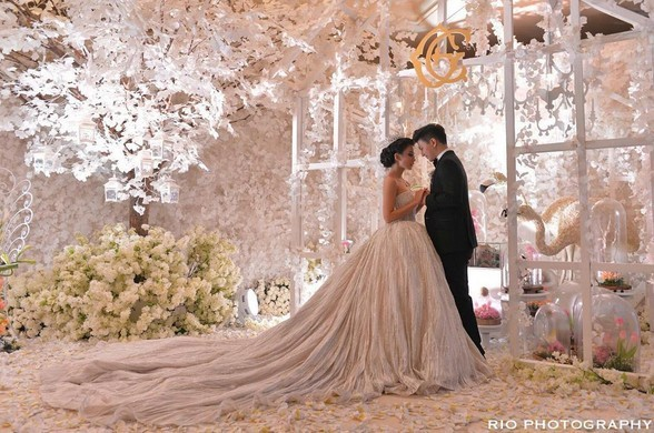chelsea olivia wedding cake chelsea had a more stunning wedding than angelababy 12635