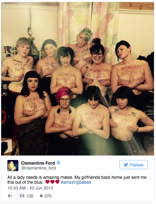 naked Clementine ford