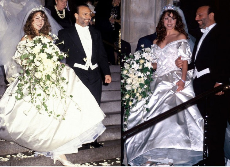 Ugly Wedding Dress.10 Ugliest Celebrities Wedding Dresses Fooyoh Entertainment