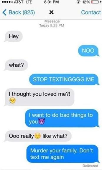 how do i talk dirty to my boyfriend over text