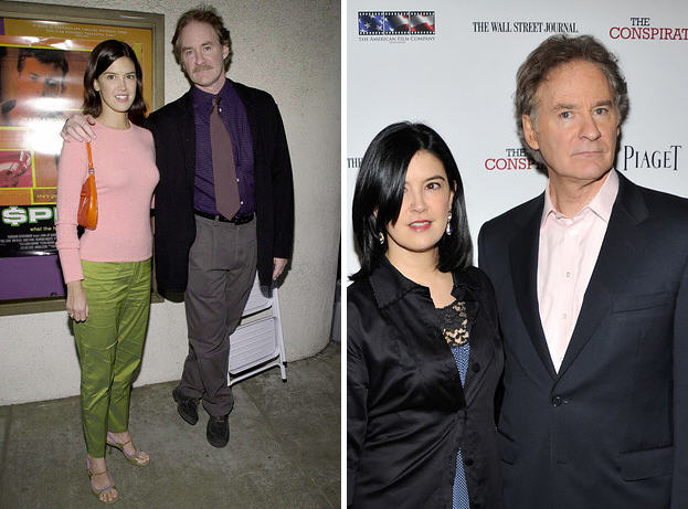 19 celebrity couples who prove that love and marriage can for Phoebe cates and kevin kline wedding