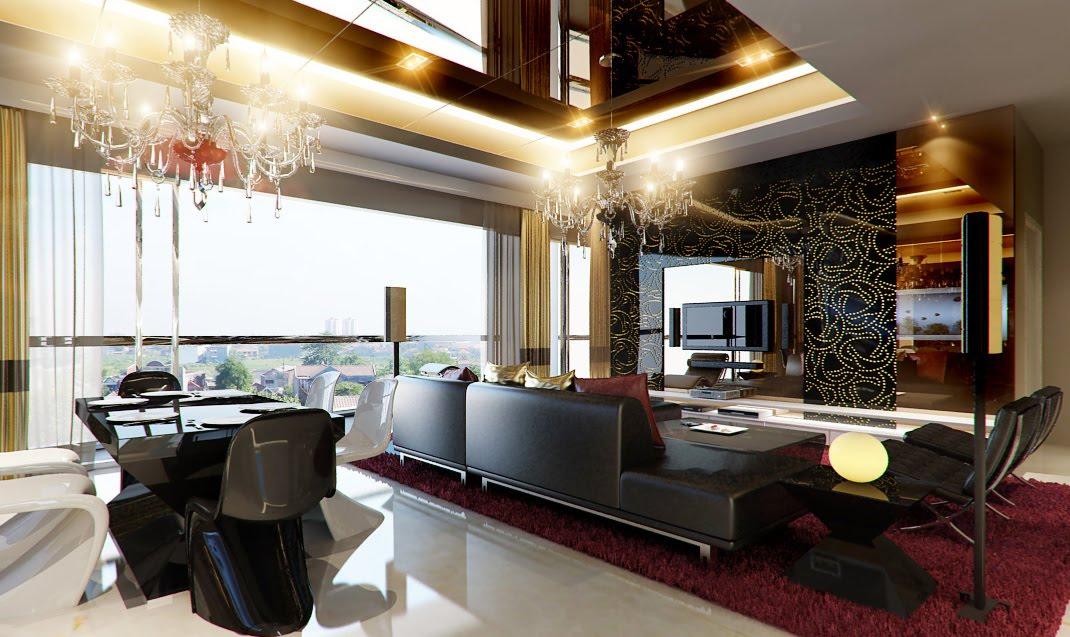 Amazing Of Elegant Living Room Interior Design Roo 1750