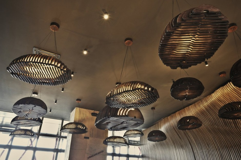 This Cafe in Kosovo was Inspired by a Sack Filled with Coffee Grains ...