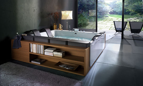 Thais Art Whirlpool Bathtub By Blubleu :: Fooyoh Entertainment Wihrlpool Badewannen Blubleu