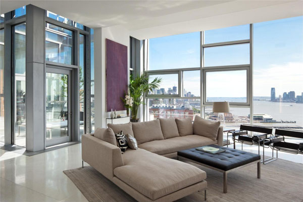 Fabulous Chelsea Apartment In NYC Has A Degrees View FOOYOH - Luxury apartments chelsea