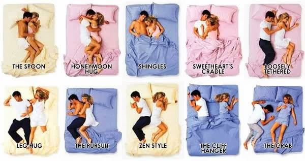 What Your Sleeping Position Says About Your Relationship FOOYOH