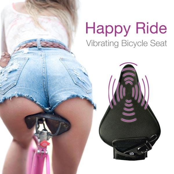 Bicycle seat orgasm