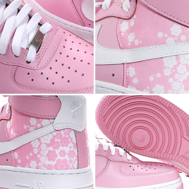 Nike | WMNS Air Force 1 High Pink White :: FOOYOH