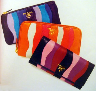 black prada wallet price - SS08 Prada: Nappa Stripes Multicolor :: FOOYOH ENTERTAINMENT
