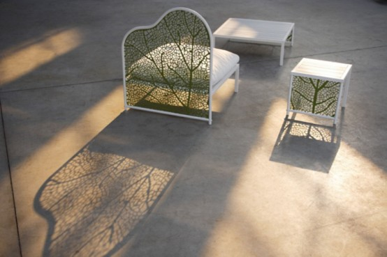 Lovely Corradiu0027s Latest Collection Of Garden Furniture Seems To Have Inspired The  Veins Of Giant Leaves, The Collection Comprises Of Sofas, Tables, ...