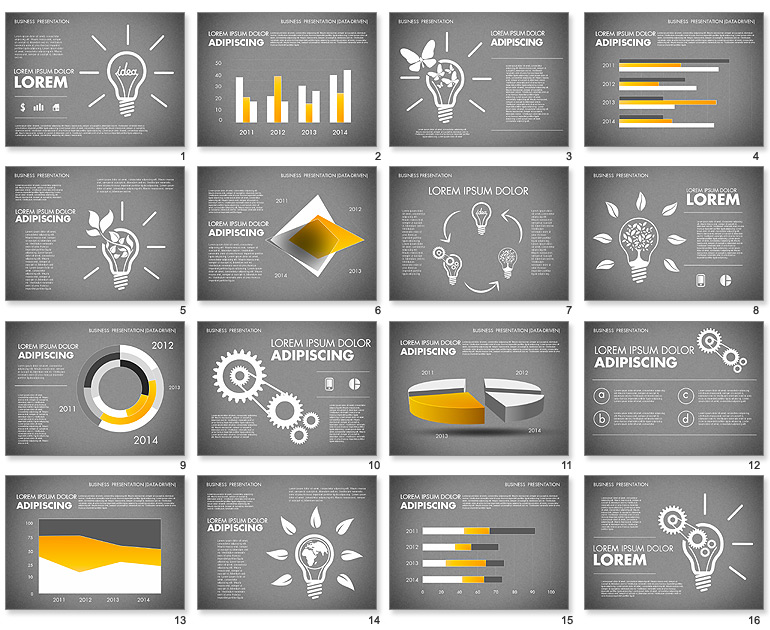 powerpoint templates: great presentations in few clicks :: fooyoh, Presentation templates