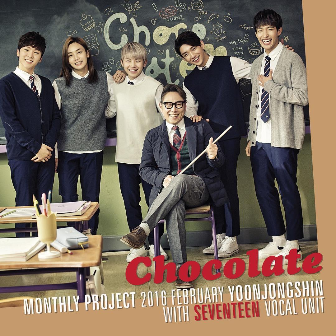 Yoon Jong Shin Reveals 'Chocolate' Jacket Image With Seventeen ...
