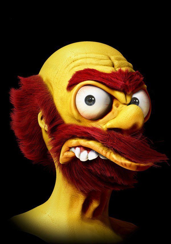 Cartoon Characters In Real Life Is Pretty Scary And F Ked Up