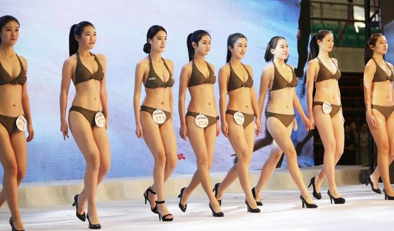 1,000 Chinese High School Grads Wear Bikinis To Become ...