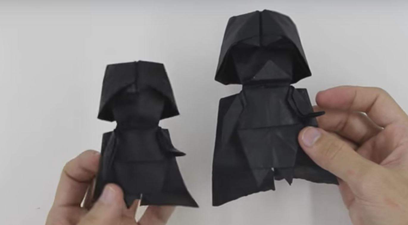 Now You Can Make Darth Vader Origami Fooyoh Entertainment